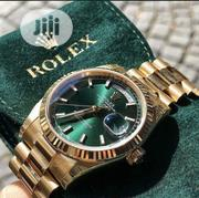 New Presidential Rolex With Green Dial Wristwatch / Wrist Watch | Watches for sale in Lagos State, Ikeja