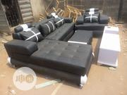 L- Shaped Leather Sofa | Furniture for sale in Lagos State, Victoria Island