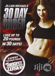 Jillian Michaels 3O Day Shred Workout DVD | CDs & DVDs for sale in Lagos State