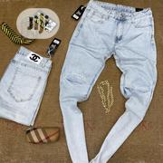 Classic Channel Designer Jeans Available in Colors and Sizes | Clothing for sale in Lagos State, Lagos Island