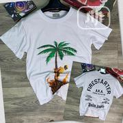 Designer Palm Angel Roundneck T-Shirt   Clothing for sale in Lagos State, Lagos Island