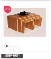 Exclusive Panthamed Set of 4 Tables(7 Colour Options) | Furniture for sale in Lagos State, Ojo