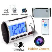 Table Clock With Hidden Spy Camera | Security & Surveillance for sale in Lagos State, Ikeja