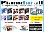 Comprehensive Piano Learning Package { Digital Version } | Classes & Courses for sale in Lagos State