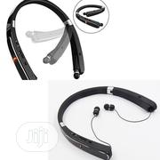Retractable And Foldable Wireless Bluetooth Neckband | Headphones for sale in Lagos State, Ikeja