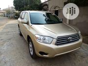 Toyota Highlander 2008 4x4 Gold | Cars for sale in Abuja (FCT) State, Karu