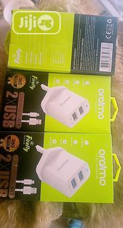 Oraimo 2XUSB Charger Charges Fast | Accessories for Mobile Phones & Tablets for sale in Abuja (FCT) State, Nyanya