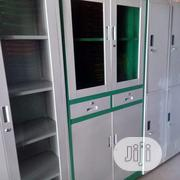 Metal Book Shelf Top Glass   Furniture for sale in Lagos State, Lekki Phase 1