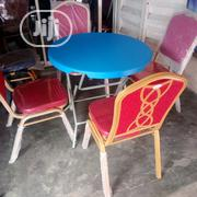 Higher Quality Round Table by 4 Seaters | Furniture for sale in Lagos State, Ojo