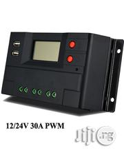 Solar Charge Controller-12v/24V 30A PWM+Dual USB Port | Solar Energy for sale in Lagos State, Kosofe