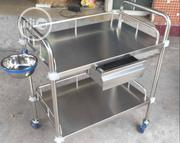 Medical Instrumental Trolley With Drawer | Medical Equipment for sale in Lagos State, Lagos Island