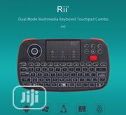 Rii I4 Bluetooth And 2.4ghz Dual Mode Mini Wireless Keyboard Air Mouse | Computer Accessories  for sale in Lagos State, Ikeja