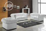 Set Of White Chesterfield Couch | Furniture for sale in Lagos State, Ikeja