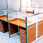 Four Man Office Workstation Table | Furniture for sale in Lagos State, Shomolu