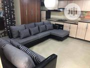 L Shaped With Extra Double Seaters | Furniture for sale in Lagos State, Ikeja