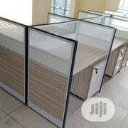 Glass Partition Office Workstation Table | Furniture for sale in Lagos State, Shomolu
