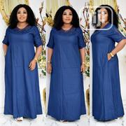 Denim Long Gown | Clothing for sale in Lagos State