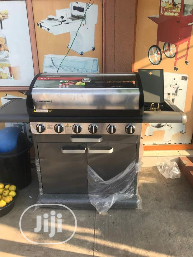 Barbecue Grill 6burner With Side Cooker
