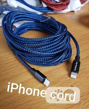 New 6FT, 10FT Charger Cord , Type C, MICROUSB, iPhone | Accessories & Supplies for Electronics for sale in Lagos State