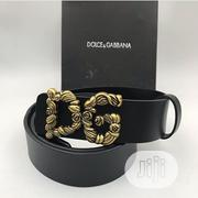 Black D G Belt | Clothing Accessories for sale in Lagos State, Lagos Mainland