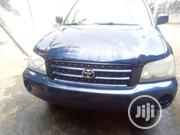 Toyota Highlander 2004 Limited V6 4x4 Blue | Cars for sale in Anambra State, Onitsha