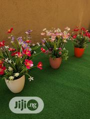 Artificial Potted Mini Cup Flowers For Sale In Ikeja Lagos | Garden for sale in Lagos State, Ikeja