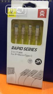 Baseus 3 In 1 Type C Cable | Accessories & Supplies for Electronics for sale in Lagos State, Ikeja