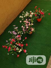Beautiful Artificial Mini Cup Flowers For Room Decorations | Landscaping & Gardening Services for sale in Lagos State, Ikeja