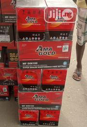 12v 100ah Ama Gold Battery | Vehicle Parts & Accessories for sale in Lagos State, Lagos Mainland