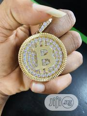 18carat Bitcoin Pendant   Jewelry for sale in Lagos State, Yaba
