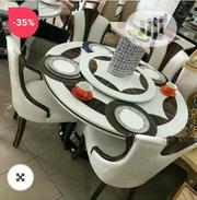 Executive Latest Design Dinning Table With Classic Leather Chair | Furniture for sale in Lagos State, Ikeja