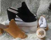 Quality Block Heel Ladies Suede Slippers | Shoes for sale in Lagos State, Lagos Island