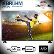 Bruhm Bfp -43lew 43-inch LED Tv- Black | TV & DVD Equipment for sale in Abuja (FCT) State, Central Business District