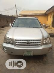 Toyota Highlander 2004 Limited V6 4x4 Silver | Cars for sale in Lagos State, Ikeja