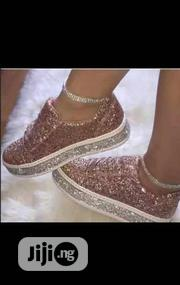 Fashion Glittery Woman Sneakers. | Shoes for sale in Lagos State, Surulere