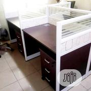 Four Man Office Workstation Table | Furniture for sale in Lagos State, Maryland
