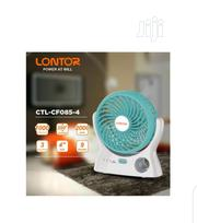 """Lontor 4 """" Rechargeable Mini Fan Wth Lithum Battery 
