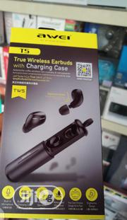 Awei Tws T5 Wireless Buds | Headphones for sale in Lagos State, Ikeja