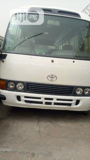 Toyota Coaster Bus 2010 White | Buses & Microbuses for sale in Lagos State, Maryland