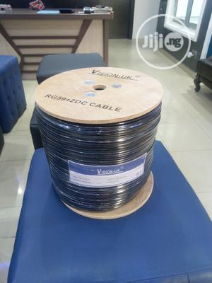 Vision UK Rg59+ Power Cable ( Pure Copper)