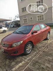 Toyota Corolla 2010 Red | Cars for sale in Abuja (FCT) State, Lokogoma