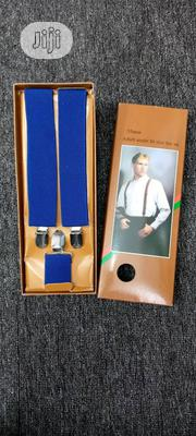 Plain Suspenders Cross Belts For Unisex | Clothing Accessories for sale in Lagos State, Lagos Island