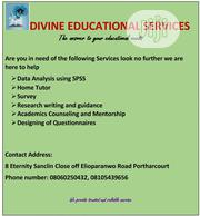 Divine Educational Services | Child Care & Education Services for sale in Rivers State, Port-Harcourt