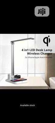 Baseus 4 In 1 Desk Lamp Wireless Charger | Furniture for sale in Lagos State, Ikeja