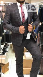 Designers 3piece Gray Turkey Men's Suits | Clothing for sale in Lagos State, Lagos Island