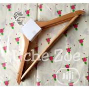 Foreign Wooden Hangers (5pcs)   Home Accessories for sale in Lagos State, Lagos Island