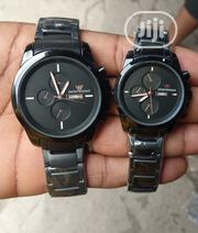 Emporio Armani Couples Black Chain Wristwatch | Watches for sale in Lagos State, Surulere