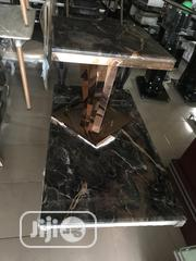 Classic Durable Set Of Marble Center Table With 2 Side Stools | Furniture for sale in Lagos State, Ojo