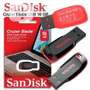 Sandisk 16GB Cruzer Blade Pen Drive | Computer Accessories  for sale in Lagos State, Ikeja