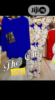 New the One Lady Chiffon Top and Trousers | Clothing for sale in Lagos State, Victoria Island